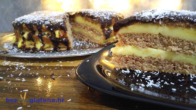 Brza torta sa sirovim kakaom bez glutena