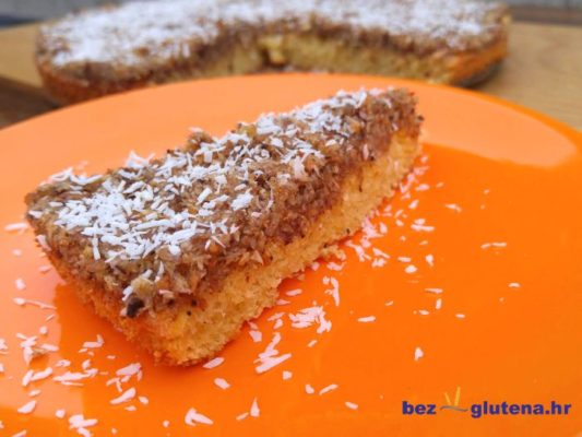 Kokos - lješnjak kolač gluten free kolač