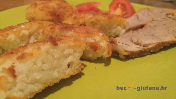 Pohana riža i pečeni biftek bez glutena recepti
