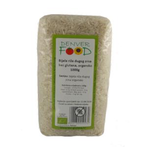 bijela riža dugog zrna bez glutena