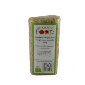smeđa riža dugog zrna bez glutena